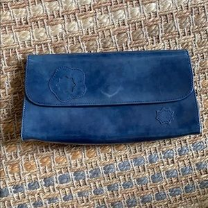 Longchamp Leather clutch